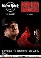 Mircea Baniciu in concert la Hard Rock Cafe