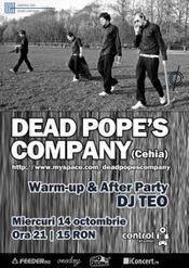 Dead Pope's Company Live @ Control