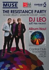 Muse - The Resistance Party @ Control