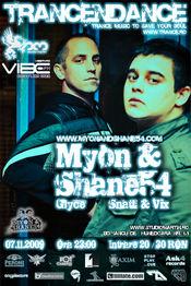 TrancENDancE cu Myon & Shane 54 @ Studio Martin