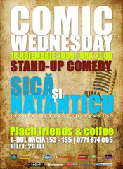 Comic Wednesday- Stand-up Comedy @ Plach