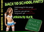 Back to School Party @ The Absinth Bar