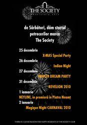 PETRECERI DE SARBATORI @ The Society Club Piatra Neamt