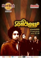 Concert SONICHOUSE @ Hard Rock Cafe