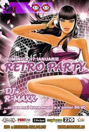RETRO PARTY @ Club Maxx