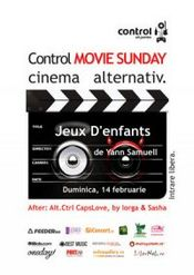 Control Movie Sunday - Valentine's edition @ Control