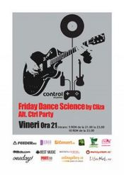 Friday Dance Science by CLIZA @ Control