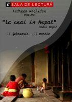 Expozitie foto - La ceai in Nepal