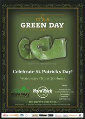 St. Patrick's Day @ Hard Rock Cafe