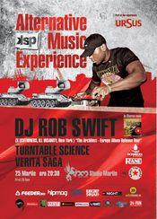 DJ Rob Swift @ Studio Martin