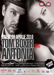 Tom Boxer & Antonia bring - The Vibe @ Turabo Society Club