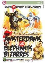 The Amsterdams vs Les Elephants Bizzares @ CONTROL