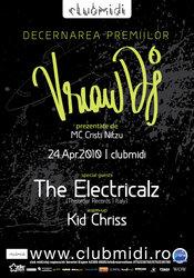 The Electricalz @ Vreau DJ Awards