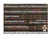 Cafeneaua critica @ Control Club