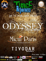 Concert Odyssey, Micul Paris, Tivodar @ Twice