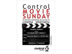 Control Movie Sunday