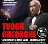 Un nou turneu semnat Tudor Gheorghe incepand din septembrie: Stagiunea permanentelor frumuseti