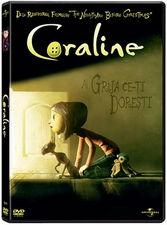 Coraline isi face curaj pe DVD