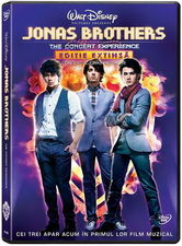 Jonas Brothers in concert pe DVD