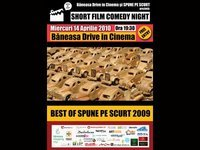 Short Film Comedy Night la Baneasa Drive in Cinema