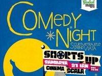 Seara de comedii scurte si premiate la ShortsUP