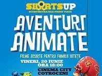 Aventuri Animate la ShortsUP, un program de filme scurte pentru familii istete